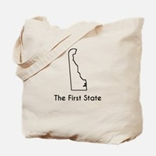 The First State Tote Bag