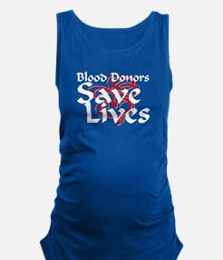 Funny Donor Maternity Tank Top