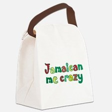 jamaican_me_crazy.png Canvas Lunch Bag