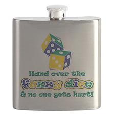 Cute Get fuzzy Flask