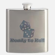Cute Dice Flask