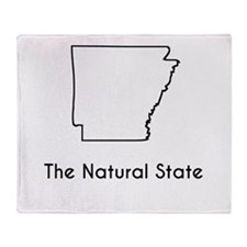 The Natural State Throw Blanket