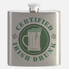 Certified Irish Drunk Flask