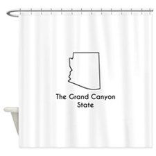 The Grand Canyon State Shower Curtain