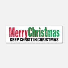 Merry Christmas KCds Car Magnet 10 x 3