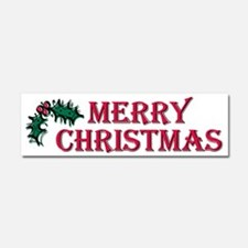 Cool Merry christmas Car Magnet 10 x 3