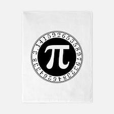 Pi sign in circle Twin Duvet