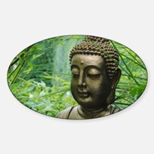 Unique Eastern philosophy Sticker (Oval)