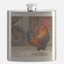 Cool Birds rooster Flask