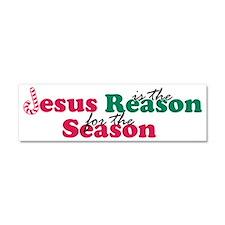About Jesus Cane Car Magnet 10 x 3