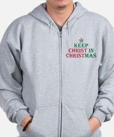 Unique Christ Zip Hoodie