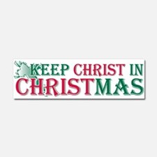 Cute Keep christ Car Magnet 10 x 3