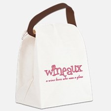 Wineaux def Canvas Lunch Bag