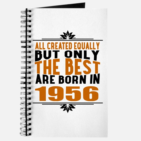 The Best Are Born In 1956 Journal