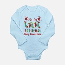 Custom! My 1st Xmas Body Suit