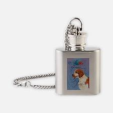 Welsh Springer Spaniel Flask Necklace