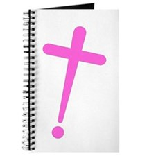 Exclamation-Cross pink Journal