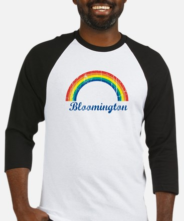 Bloomington (vintage rainbow) Baseball Jersey