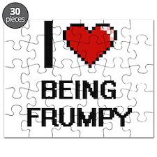 I Love Being Frumpy Digitial Design Puzzle
