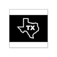 """Cute Dallas Square Sticker 3"""" x 3"""""""