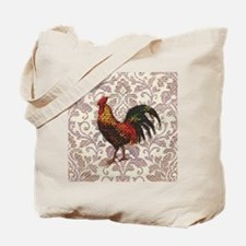 french country vintage rooster Tote Bag