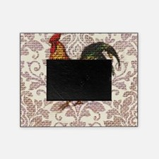 french country vintage rooster Picture Frame