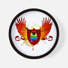 alabama crest Wall Clock