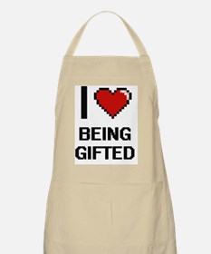 I Love Being Gifted Digitial Design Apron