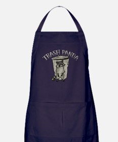 Raccoon Trash Panda Apron (dark)