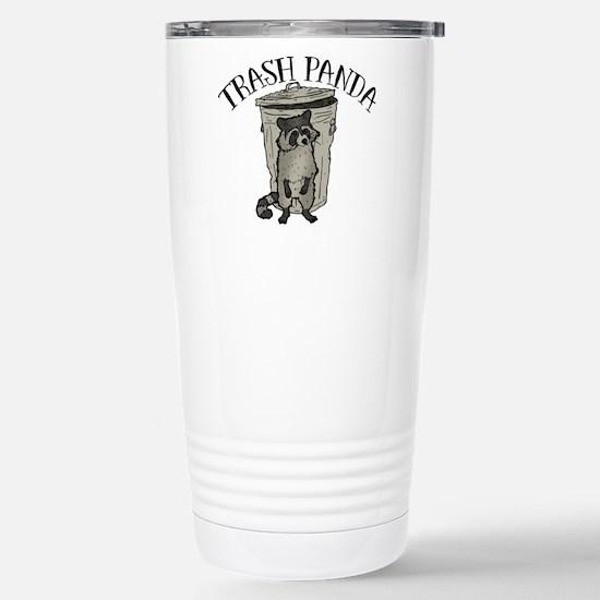 Raccoon Trash Panda Travel Mug