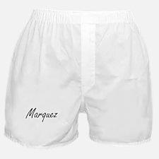 Marquez surname artistic design Boxer Shorts