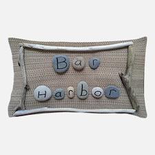 Bar Harbor - Beach Stones - Driftwood Pillow Case