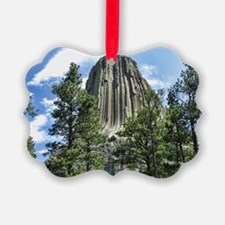 Helaine's Devil's Tower Ornament