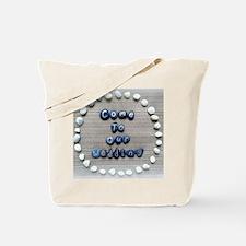 Cute Engagement beach Tote Bag