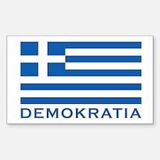 Demokratia Decal