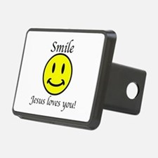 Smile Jesus Hitch Cover