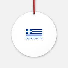 Demokratia Ornament (Round)