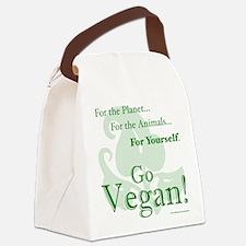 Go Vegan! Canvas Lunch Bag