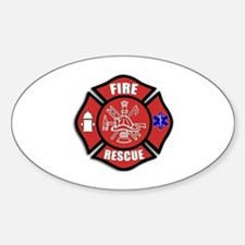 Fire Rescue Stickers