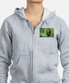 Buddha in the Forest Zip Hoodie