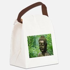 Buddha in the Forest Canvas Lunch Bag