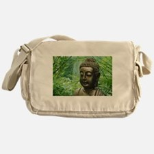Buddha in the Forest Messenger Bag