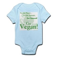 Go Vegan! Infant Bodysuit