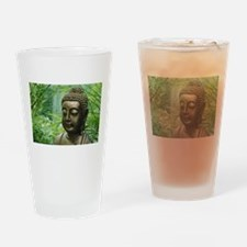 Buddha in the Forest Drinking Glass