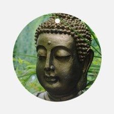 Buddha in the Forest Ornament (Round)