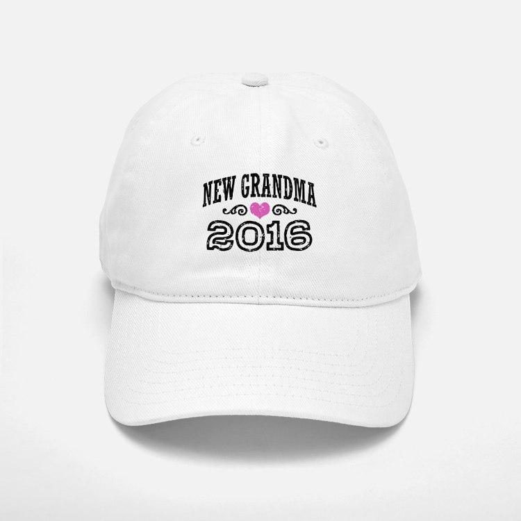 New Grandma 2016 Baseball Baseball Cap