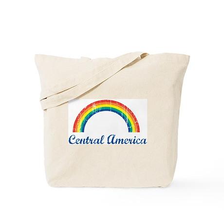 Central America (vintage rain Tote Bag