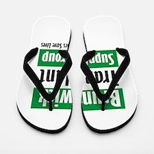 Brunswick Transplant Support Group logo Flip Flops