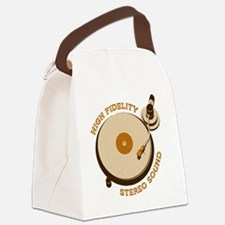 High Fidelity Canvas Lunch Bag