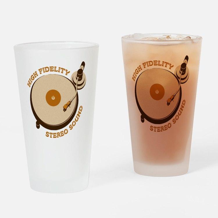 High Fidelity Drinking Glass